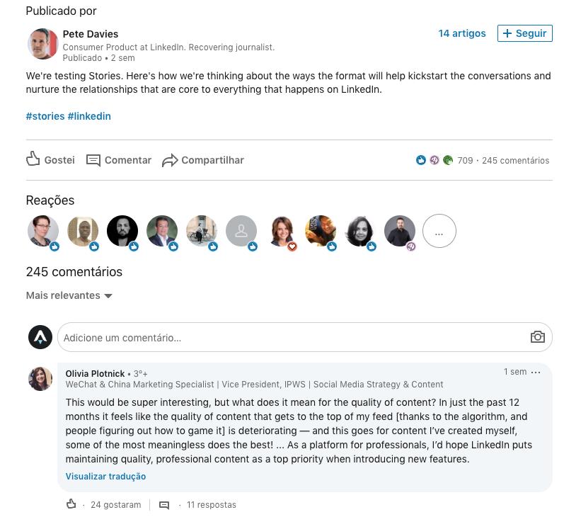 Davis LinkedIn