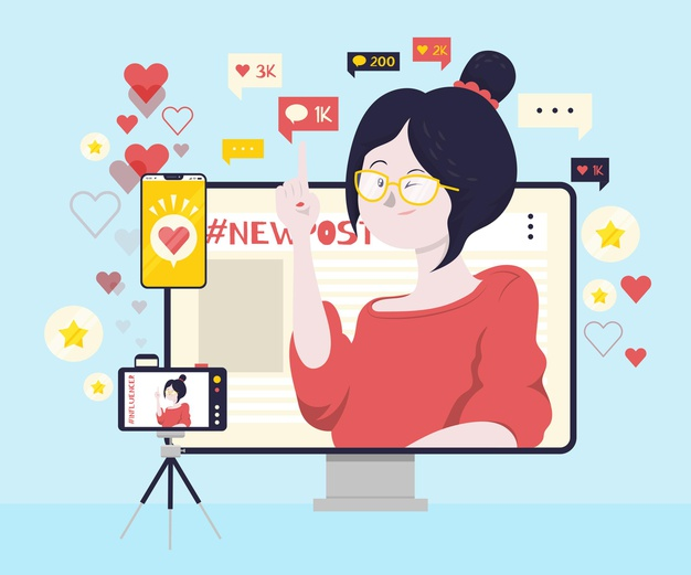 Lições de 2020 para o marketing digital - influencer