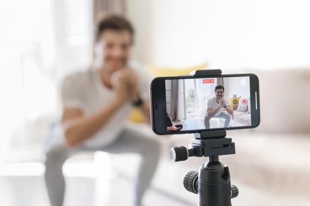 Vídeo marketing - celular